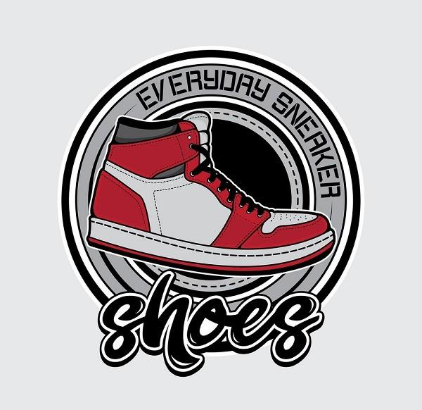 Thiết kế logo shop giày ấn tượng