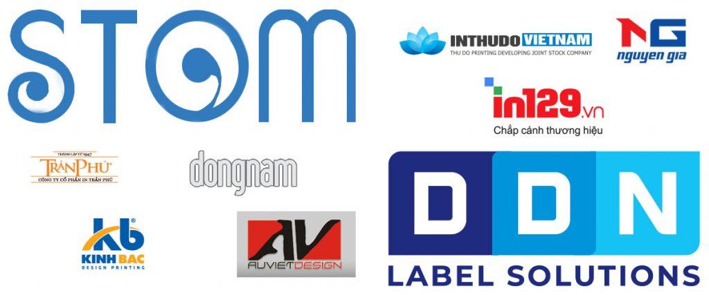 Thiết kế logo in ấn theo tên thương hiệu