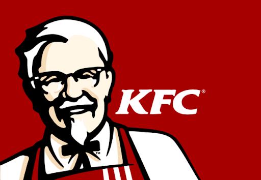 Logo KFC lấy hình ảnh người sáng lập (Nguồn: Sưu tầm)