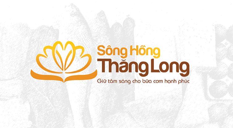 Mẫu logo thương hiệu Sông Hồng Thăng Long (Nguồn: Sưu tầm)