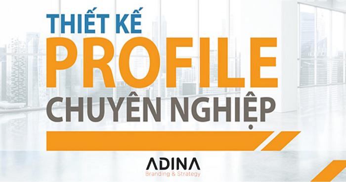 Công ty thiết kế profile chuyên nghiệp