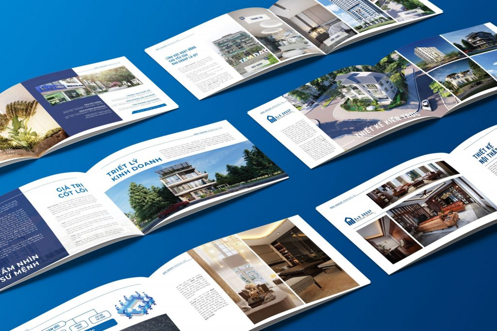 Điểm cộng trong dịch vụ thiết kế profile của Adina Việt Nam