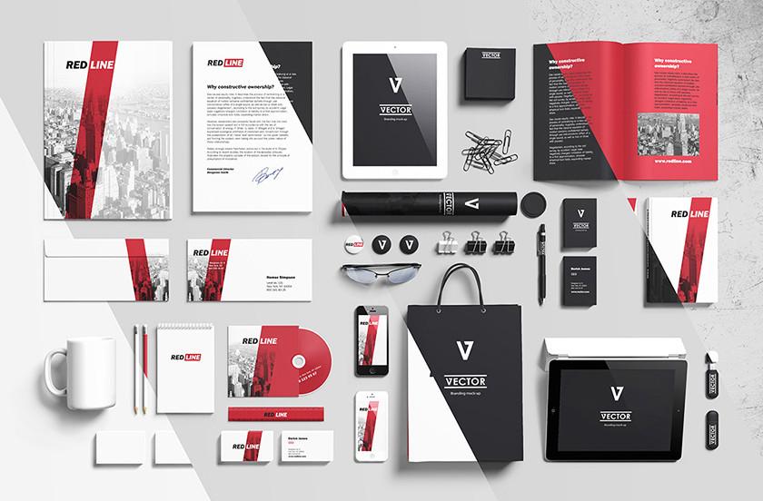 Thiết kế bộ nhận diện thương hiệu Tiếng Anh hoàn mỹ
