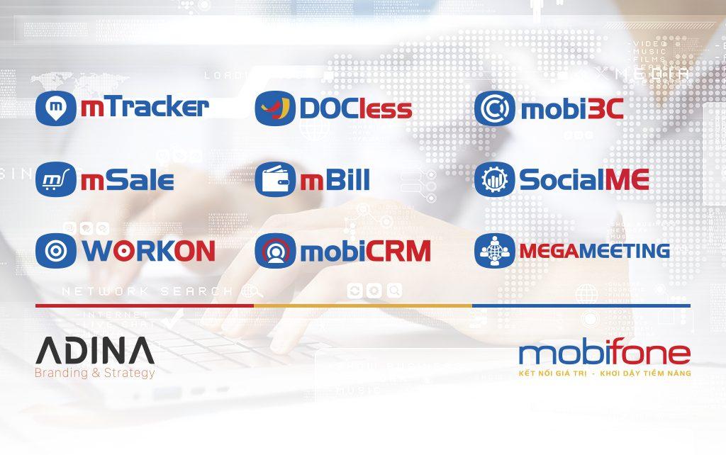 Thiết kế hệ thống thương hiệu Mobifone
