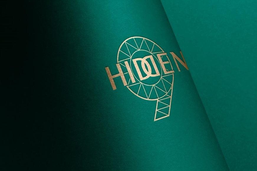 Thiết kế logo Hidden 9