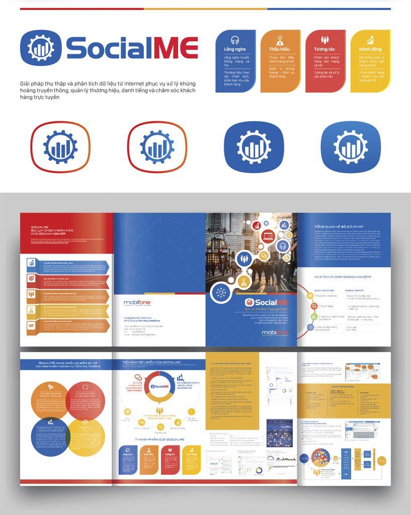 Thiết kế nhận diện Social Me Mobifone