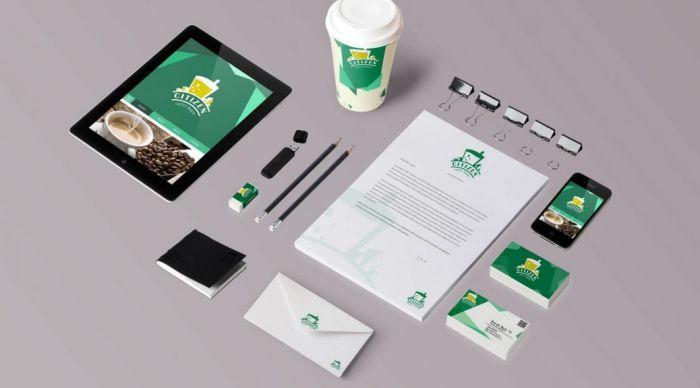 Thiết kế bộ nhận diện thương hiệu Tiếng Anh Citizen